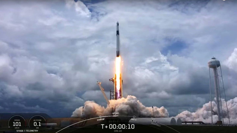 Anda mira, un cohete espacial de verdad que pone cosas en órbita