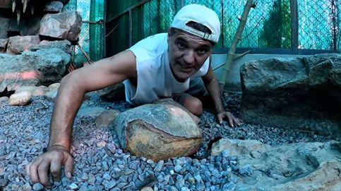 Frank Cuesta se la juega: libera animales salvajes sin tener la licencia