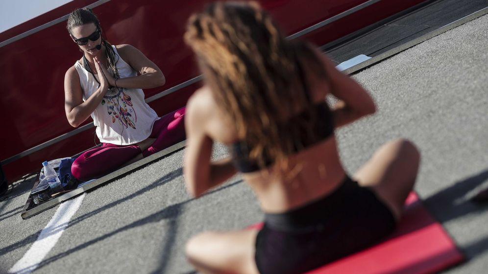 Foto: Deporte contra el sedentarismo. (EFE)