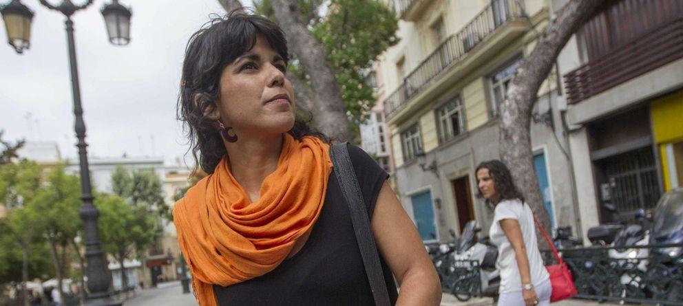 Foto: Teresa Rodríguez, la posible candidata 'oficial' de Podemos. (EFE)