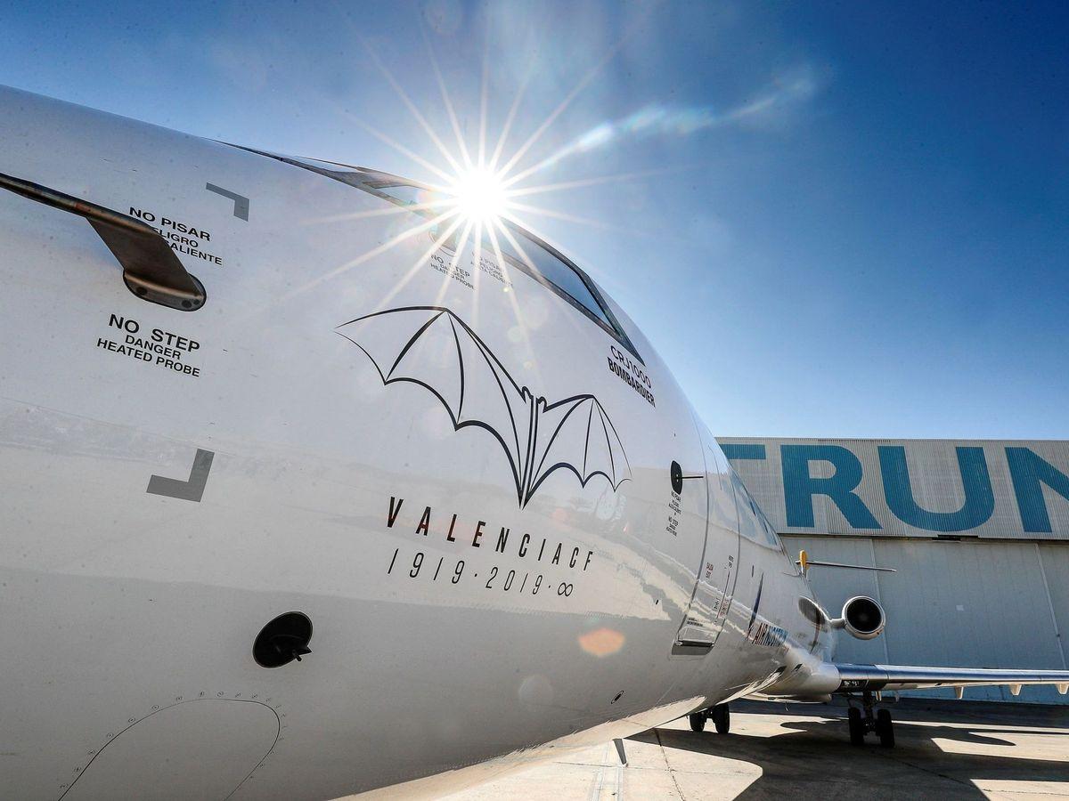 Foto: Avión de Air Nostrum. (EFE)