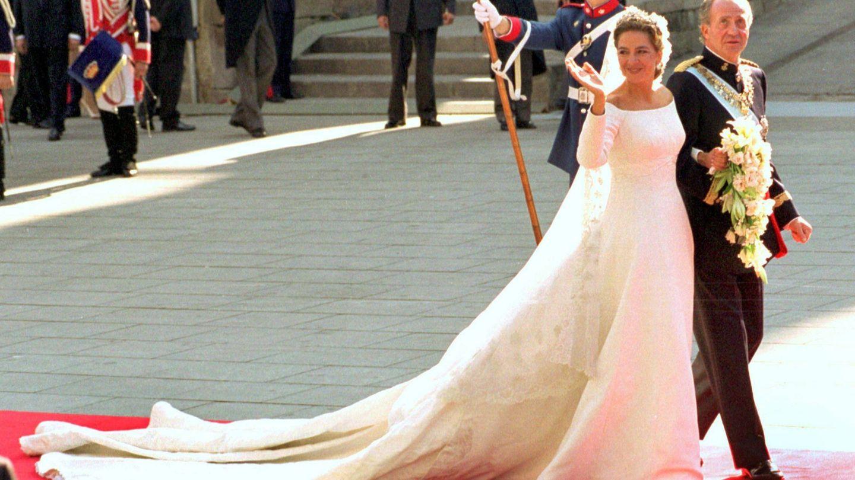 Cristina, el día de su boda. (Cordon Press)