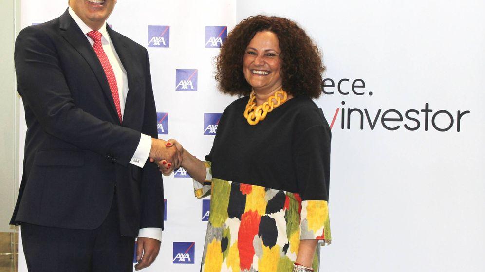 Foto: Carlo Aso, consejero delegado de Andbank España, y Olga Sánchez, consejera delegada de AXA España
