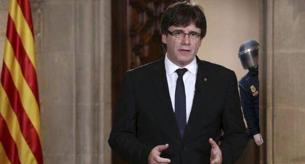Foto:  Uno de los memes sobre Puigdemont