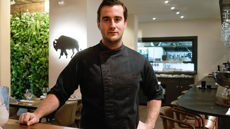 El  chef Fernando Alcalá. (Kava)