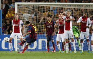 Messi 'contesta' a Cristiano y se lanza a por los 71 goles de Raúl