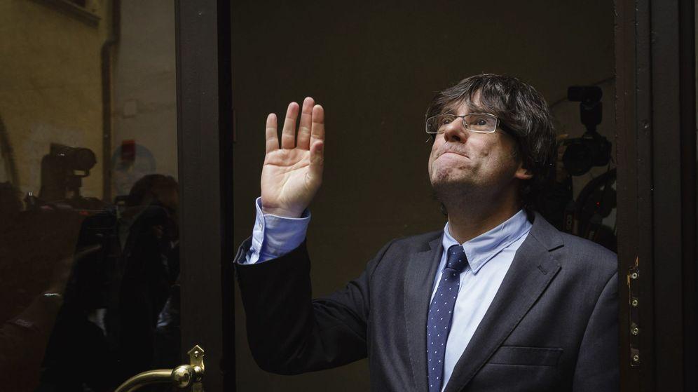 Foto: El nuevo presidente electo catalán, Carles Puigdemont. (EFE)