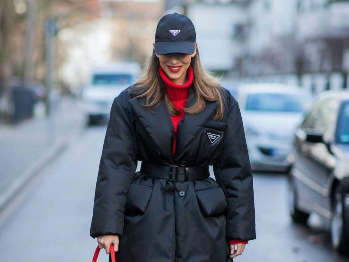 Foto: La insider Alexandra Lapp, con la chaqueta en cuestión. (Instagram @alexandralapp)