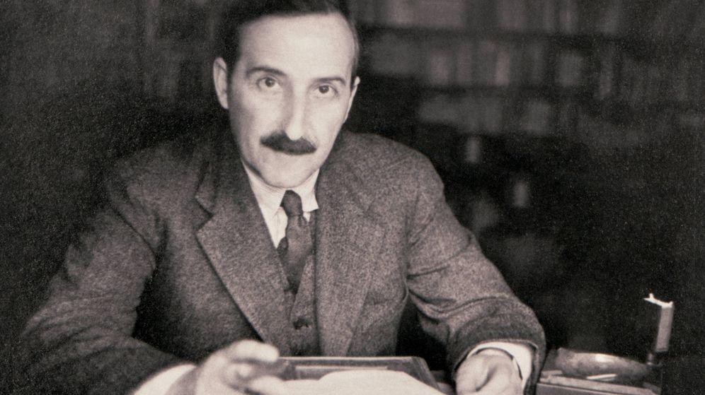 Foto: Retrato de Stefan Zweig