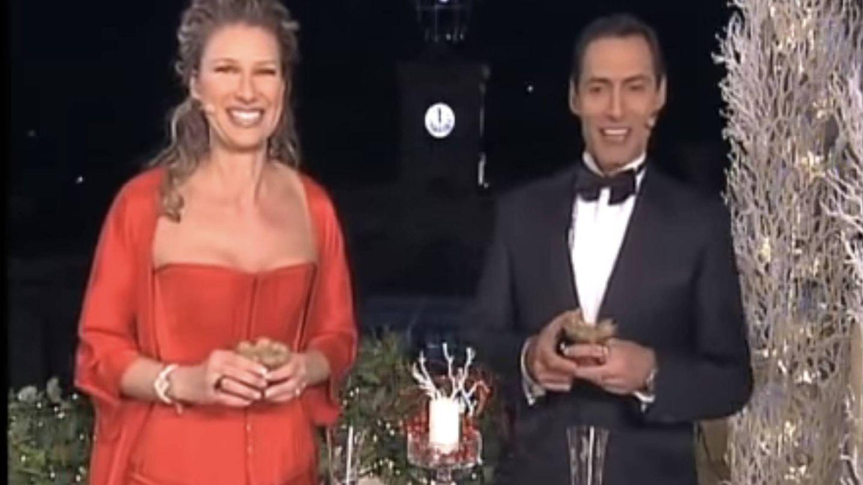 Anne Igartiburu empezó en 2009 a vestir de Lorenzo Caprile.