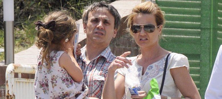 Foto: José Mota y Patricia Rivas con su hija Daniela en una imagen de archivo (I.C.)