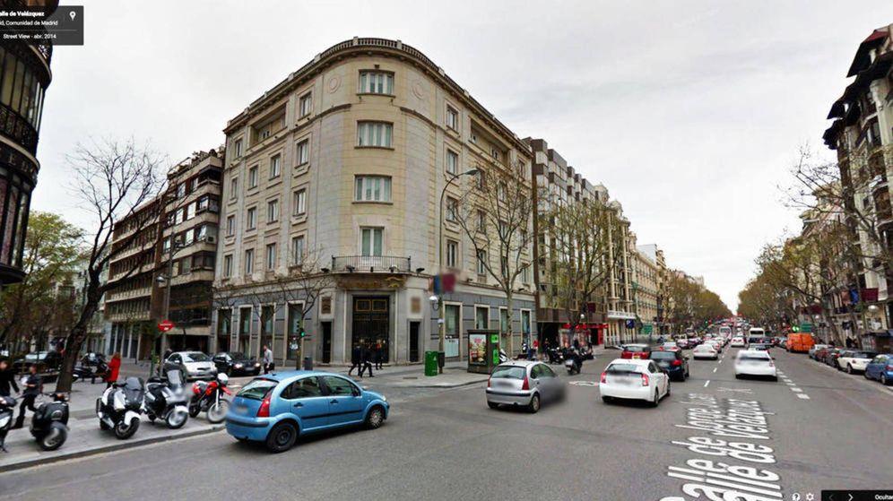 Foto: Edificio situado en la calle Velázque, 23.