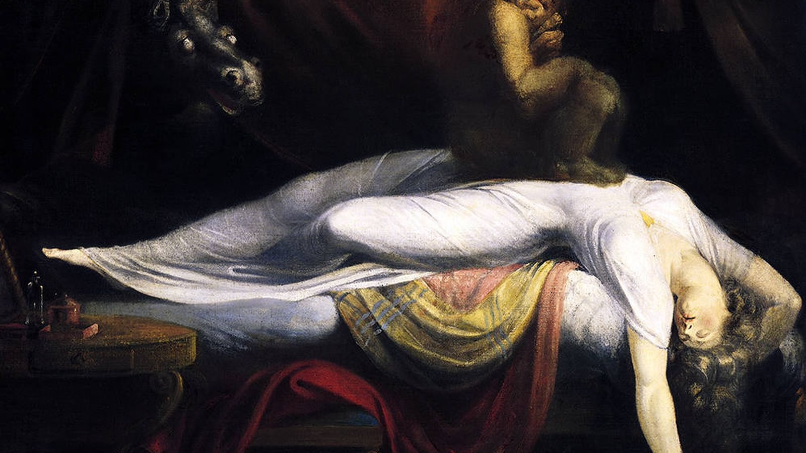 Foto: 'La pesadilla' de Henry Fuseli, 1781.