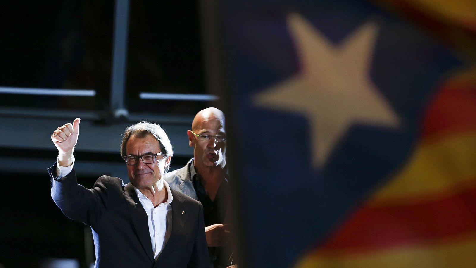 Foto: Artur Mas, presidente en funciones de la Generalitat de Cataluña. (Reuters)
