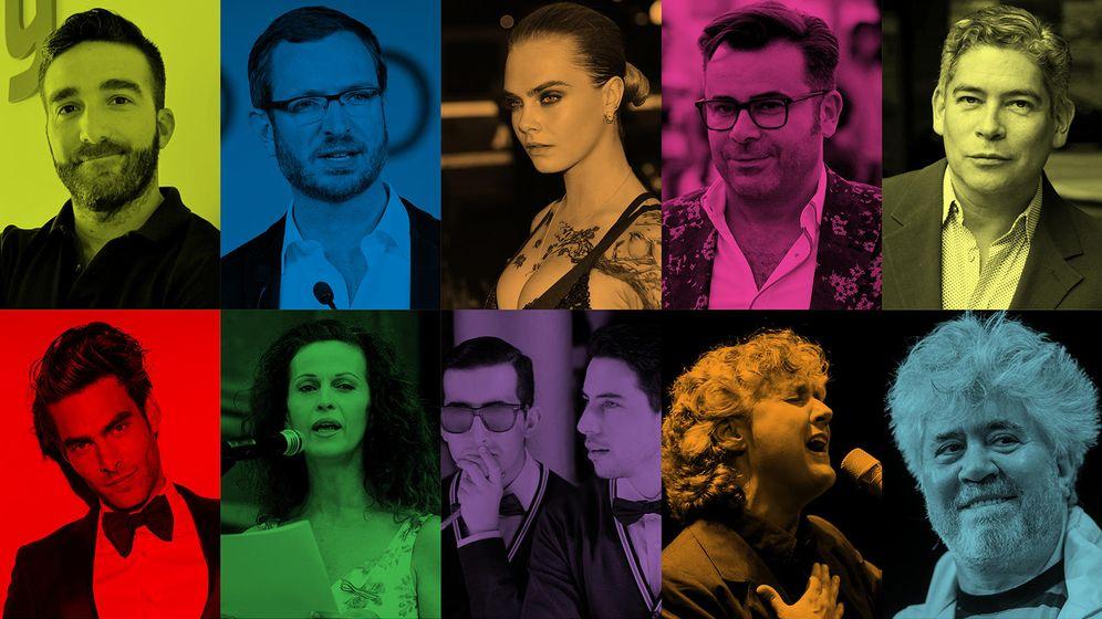 Foto: Orgullo Gay: de Javier Maroto a Jorge Javier Vázquez o Elena Anaya, ellos son los gais y lesbianas del momento