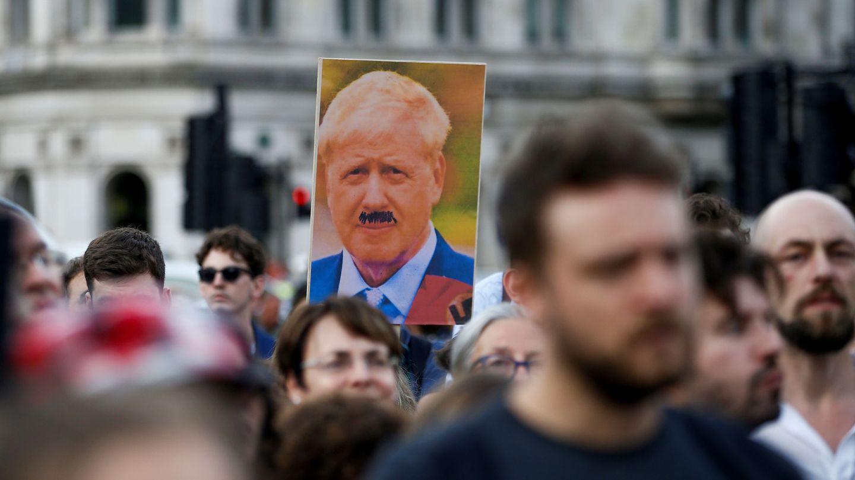Manifestación anti-Brexit en Londres, ayer. (Reuters)