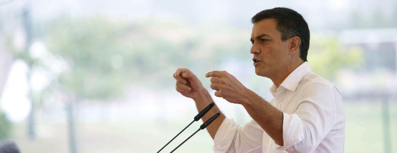 Foto: Pedro Sánchez, el pasado 10 de septiembre, en un mitin en Cerceda, A Coruña. (EFE)