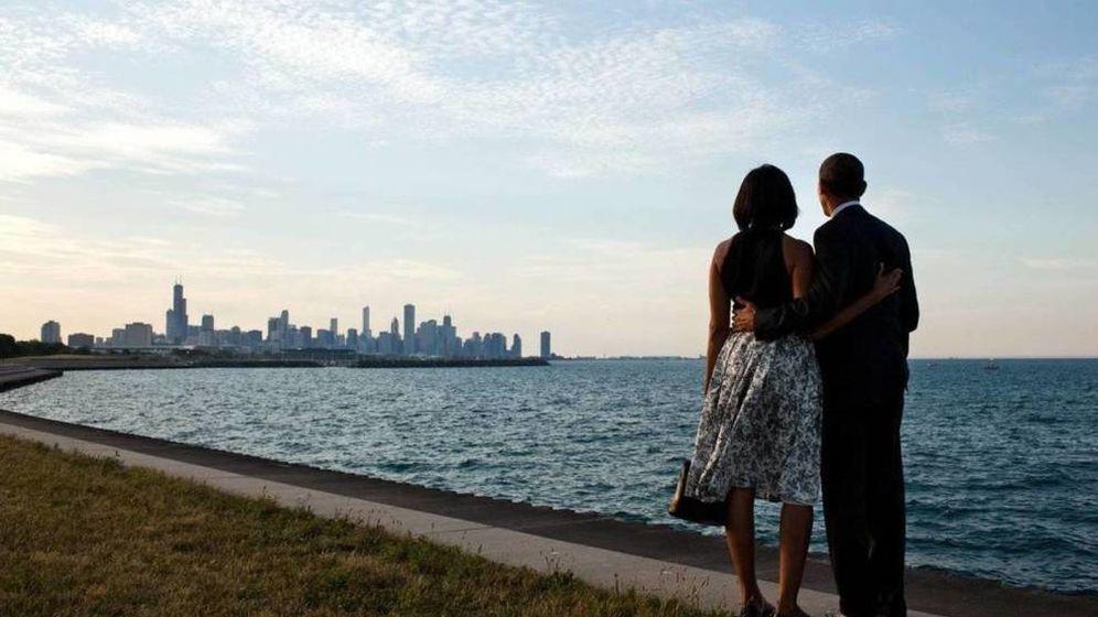 Foto: El matrimonio Obama en una imagen de archivo.