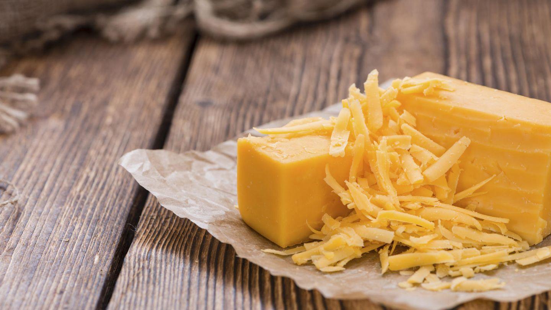 El queso es una gran fuente de calcio.