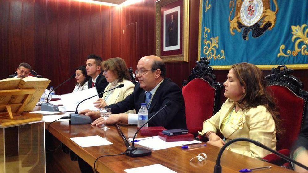 Foto: Antonio Vicente, alcalde de El Escorial.