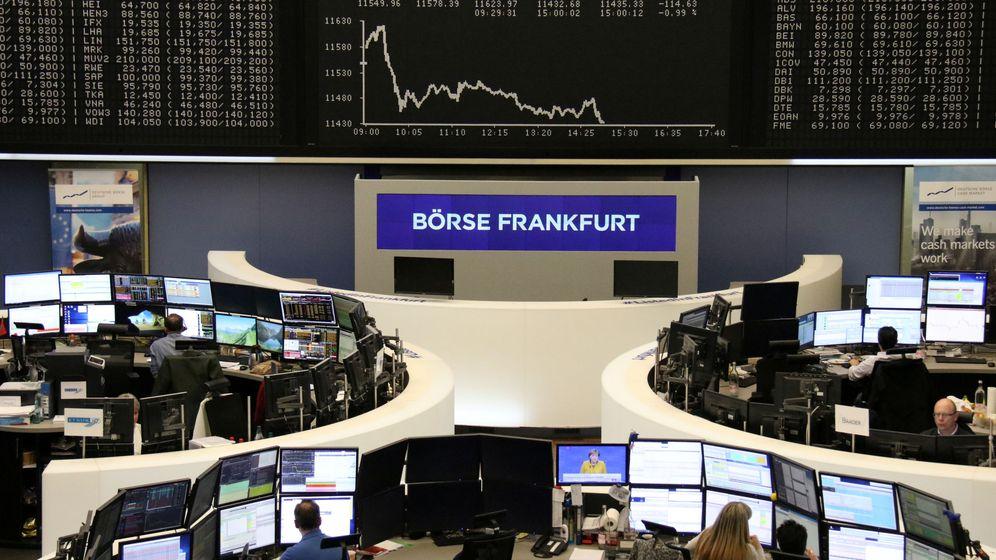 Foto: La bolsa de Fráncfort. (Reuters)