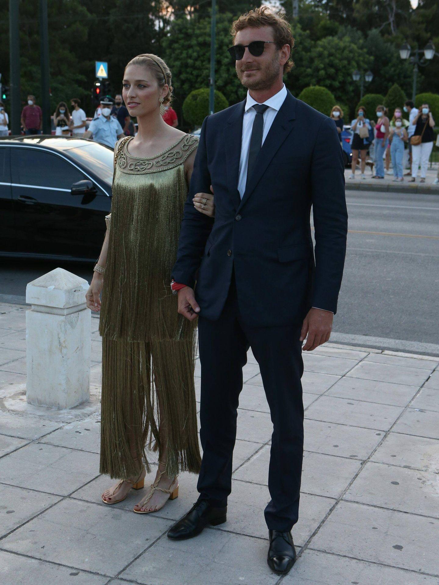 Beatrice Borromeo y Pierre Casiraghi en el desfile de Dior. Cordon Press.