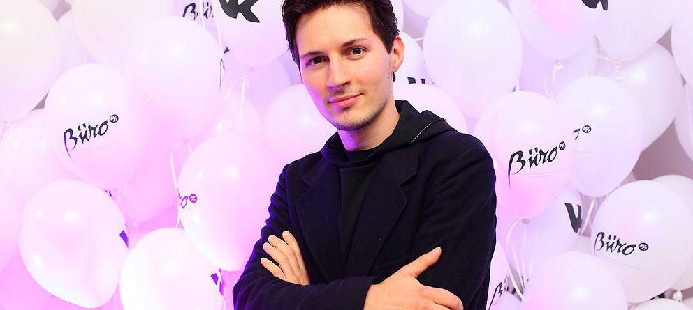 Foto: El multimillonario Pavel Durov es el impulsor de Telegram