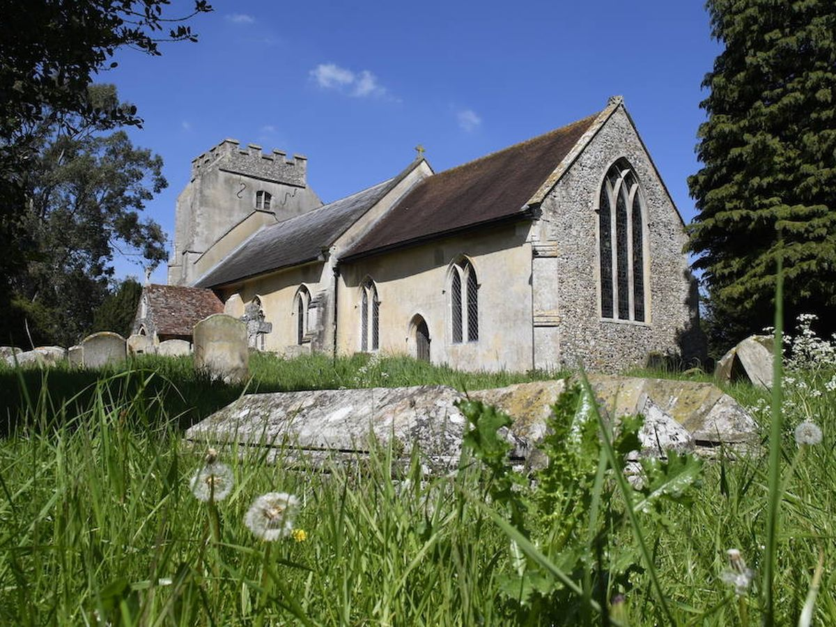 Foto: Iglesia de Santa Petronila en Whepstead, Suffolk