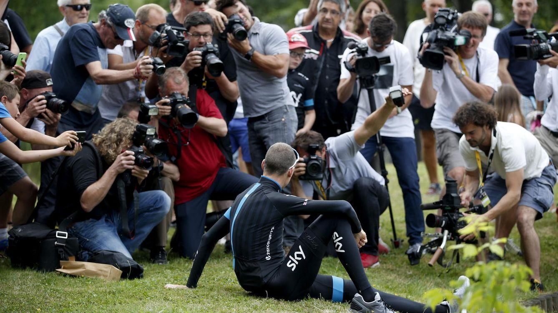 A Chris Froome le va la marcha en la primera etapa de montaña del Tour
