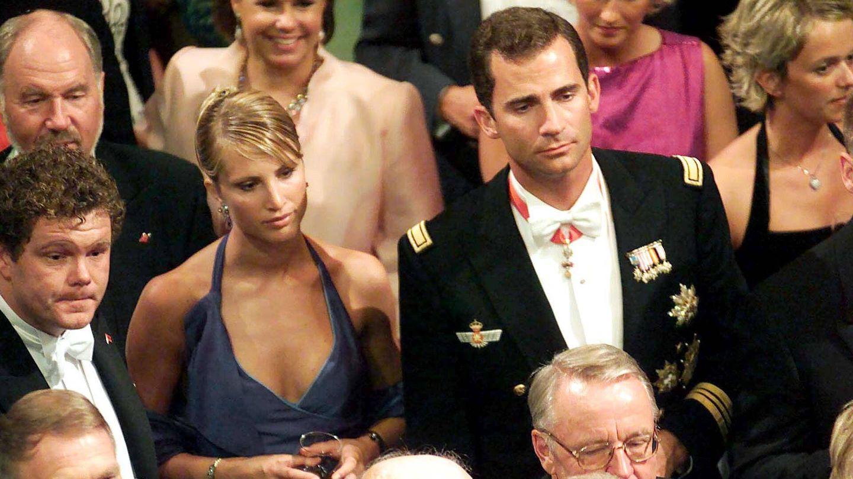 El príncipe Felipe, junto a Eva Sannum. (Gtres)