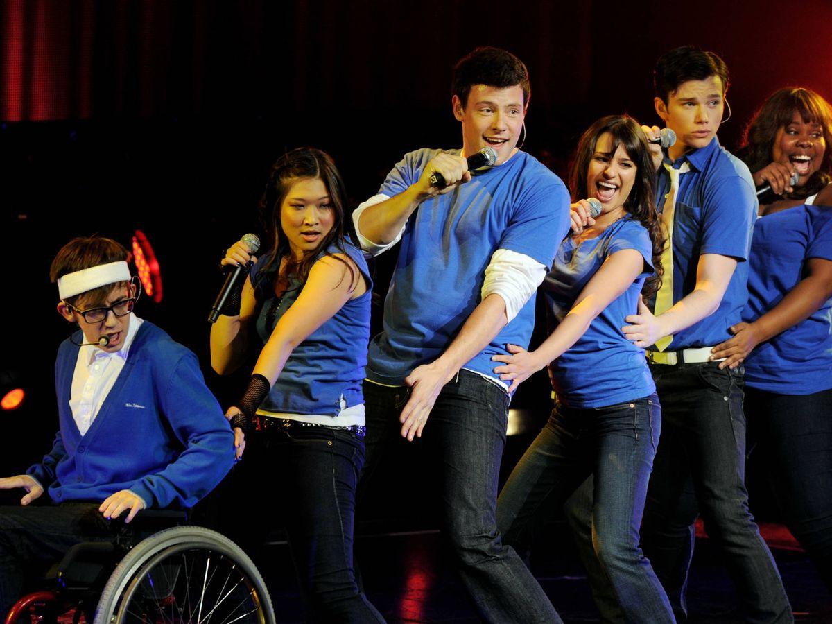 Foto:  Los protagonistas de 'Glee'. (Getty)