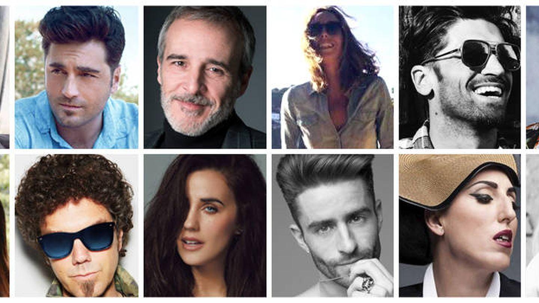 Imagen de todos los participantes de 'Bailando con las estrellas'. (RTVE)