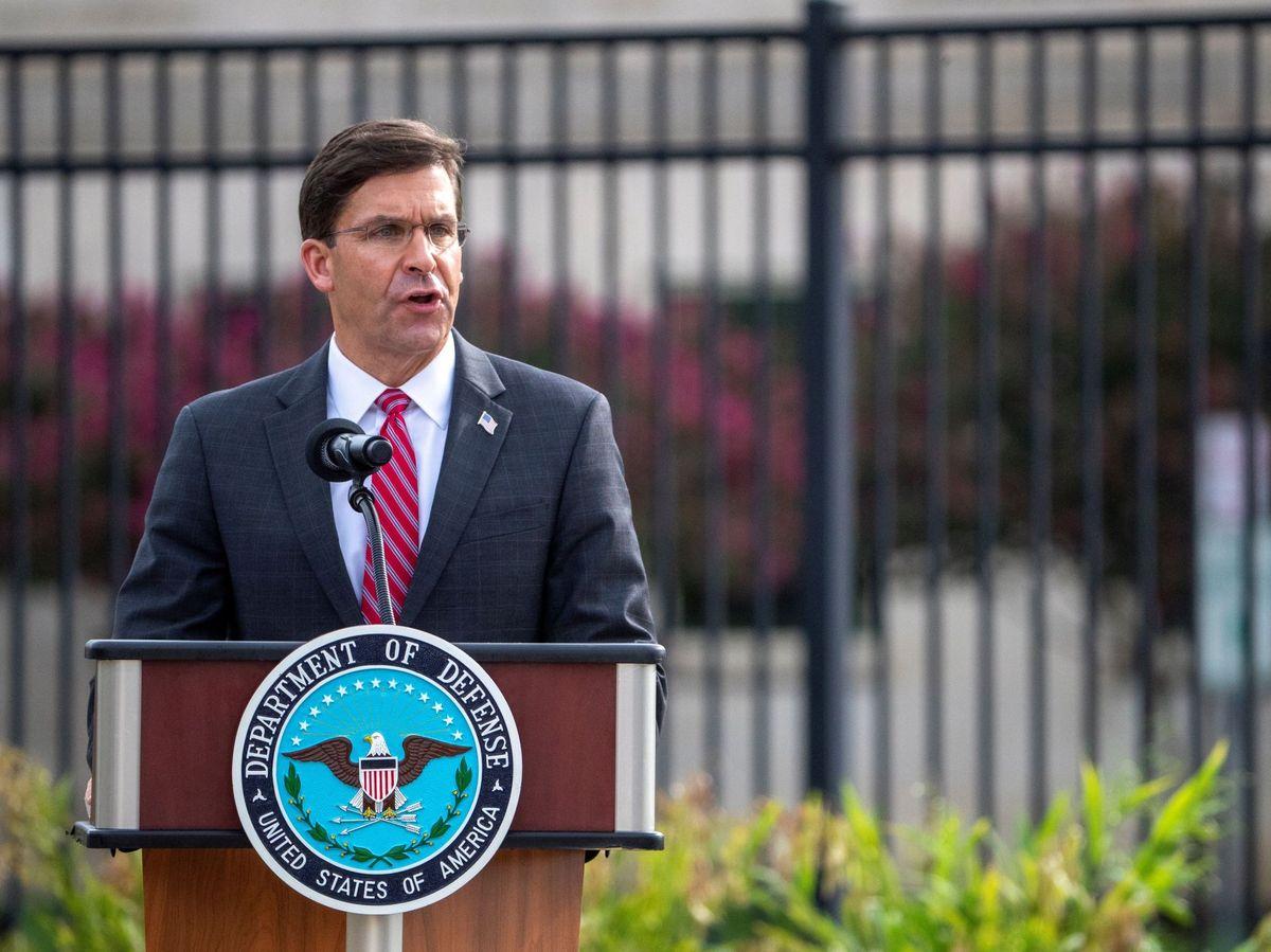 Foto: El ex secretario de Defensa estadounidense, Mark Esper. (EFE)