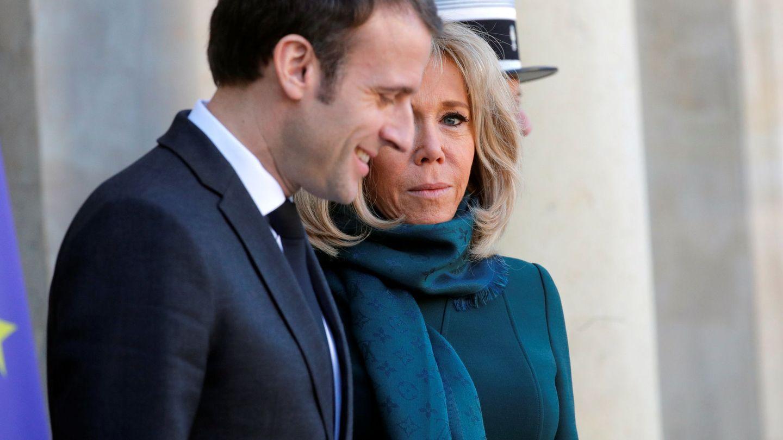 El matrimonio Macron. (Reuters)