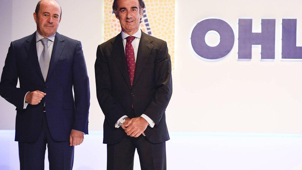 Foto: OHL Jose Antonio Fernández Gallar y Juan Villar Mir de Fuentes (OHL)