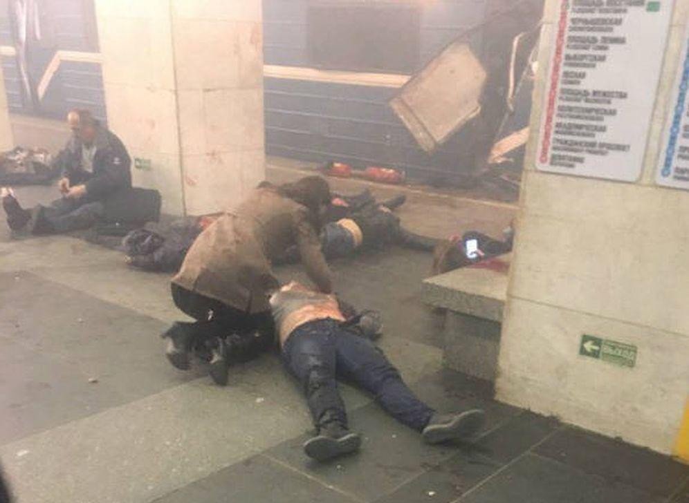 Foto: Una de las imágenes difundidas por ciudadanos presentes en el lugar.