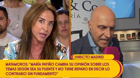 Bronca entre Kiko Matamoros y María Patiño en 'Sálvame': ¡Tienes muy poca vergüenza!