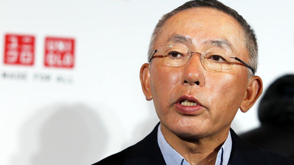 Foto:  Tadashi Yanai, CEO de Uniqlo. (Getty)