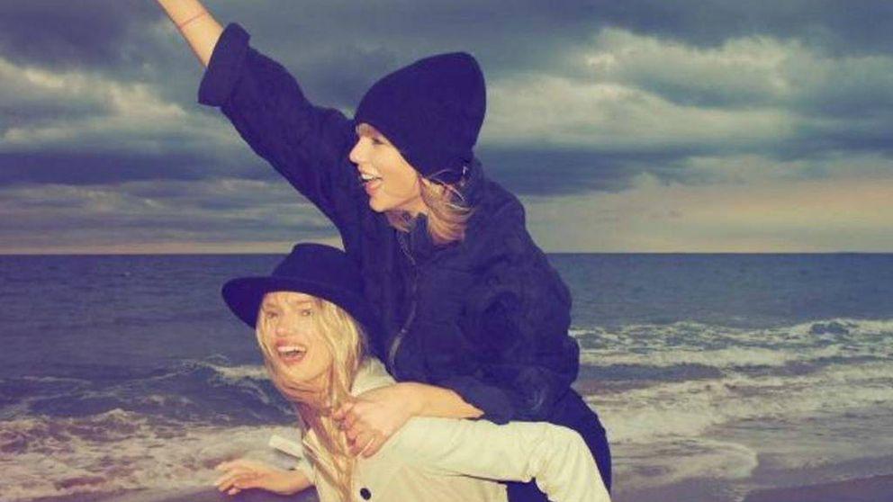 Taylor Swift se suma al Mannequin Challenge, en la playa y 'a lo loco'