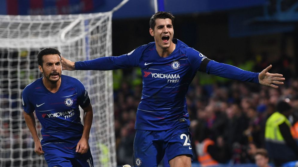 Foto: Álvaro Morata ha marcado nueve goles esta temporada con el Chelsea. (EFE)