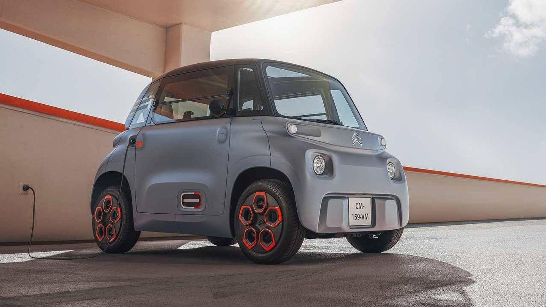 El Citroën Ami es un rompedor cuadriciclo 100% eléctrico para los más jóvenes.