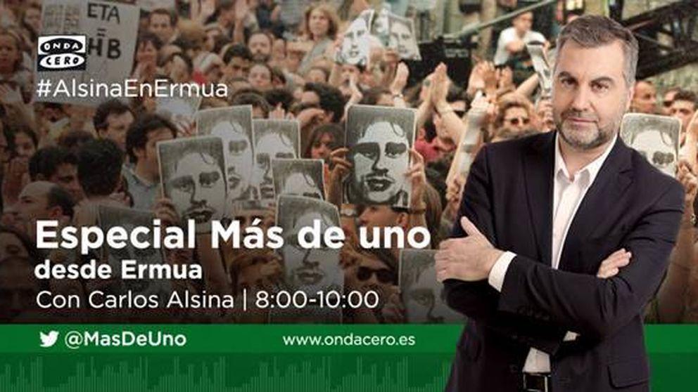 'Más de uno' recuerda a Miguel Ángel Blanco con un especial desde Ermua