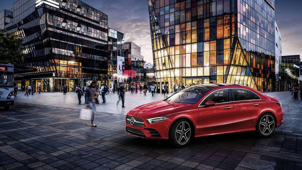 La exclusiva carrocería del nuevo Mercedes Clase A L berlina solo de venta en China