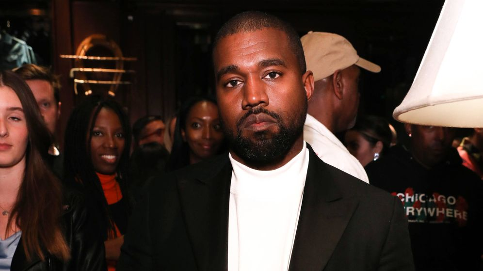 Foto: Kanye West, en un evento de Ralph Lauren. (Getty)