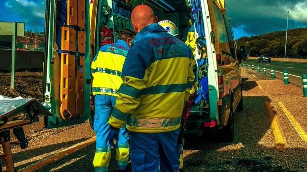 Muere un ciclista atropellado por una furgoneta en la M-607 de Madrid