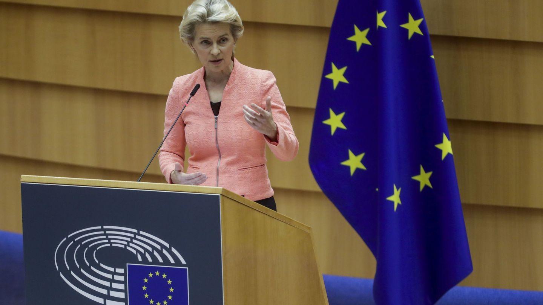 Discurso del estado de la Unión de 2020 en Bruselas. (EFE)