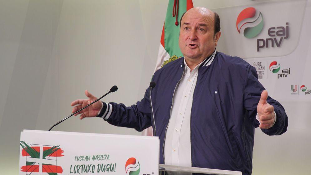 Foto: El presidente del PNV, Andoni Ortuzar (EFE)