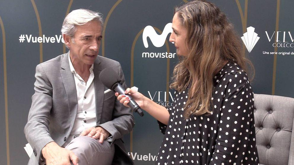 Imanol Arias, feliz con 'Velvet ': Estoy saliendo de un par de años complicados