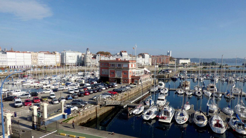 Foto: Foto de archivo del puerto deportivo de A Coruña. (EFE)