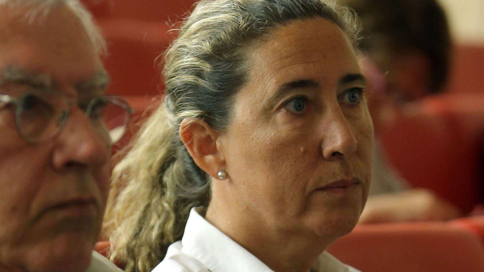 Foto: La exdirectora financiera del Palau de la Música Gemma Montull. (EFE)